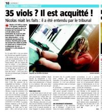 Acquitté des 35 viols qu'on lui reprochait