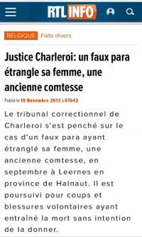 L'histoire d'un faux-para qui avait tué une ex-comtesse dans le Hainaut