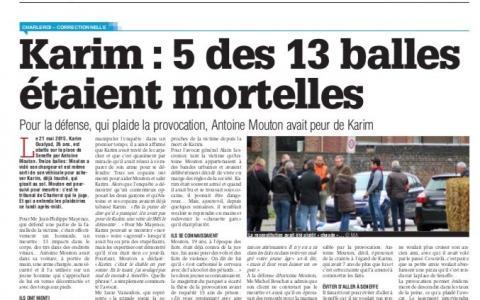 Le meurtre d'un jeune homme, qui a pris 13 balles, vient d'être jugé à Charleroi